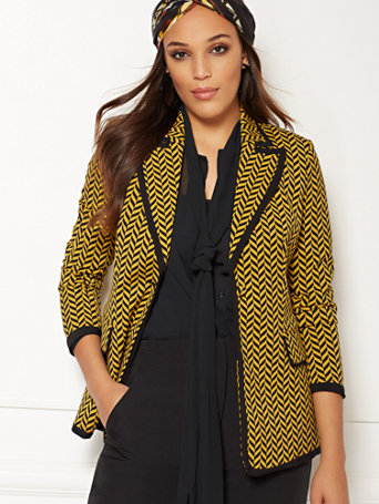Eva Mendes Collection   Elise Jacket by New York & Company