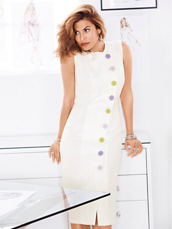 eva-mendes-collection---emme-sheath-dress by new-york-&-company