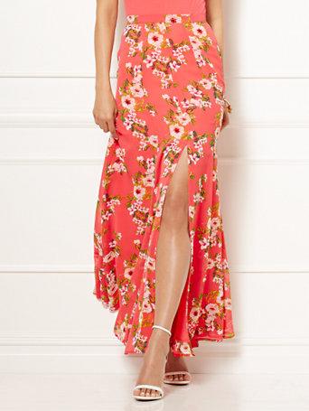 Eva Mendes Collection - Jana Printed Maxi Skirt - Petite