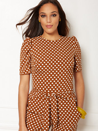 Eva Mendes Collection   Jayda Top by New York & Company