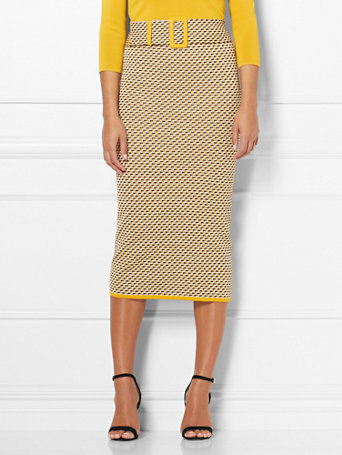 Eva Mendes Collection   Jenny Sweater Skirt by New York & Company