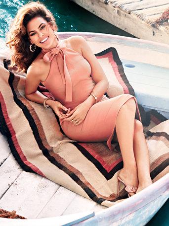 Eva Mendes Collection - Nicole Halter Sheath Dress - Petite