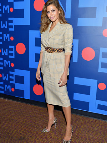 eva-mendes-collection---petite-plaid-peyton-blazer by new-york-&-company
