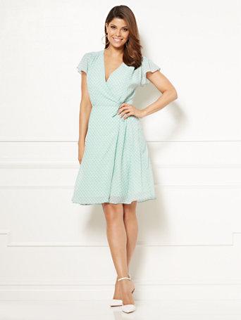 Eva Mendes Collection - Sara Wrap Dress - Tall