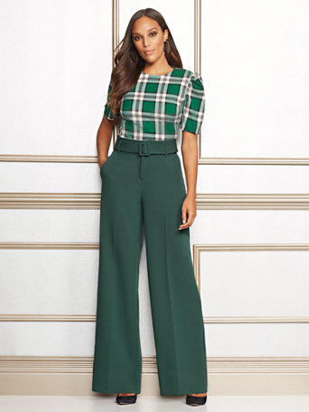 Eva Mendes Collection   Tall Carine Palazzo Pant by New York & Company