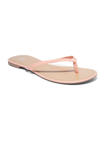 4bbddacaf faux-patent-leather-flip-flop-sandal by new-york-