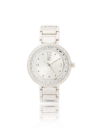 Glittering Link Watch by New York & Company