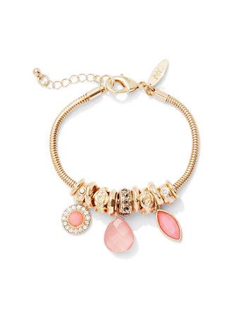 Glittering Rondelle Bracelet