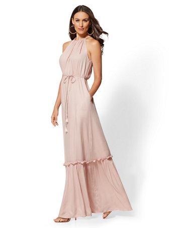 halter-maxi-dress by new-york-&-company
