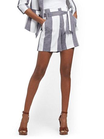 NY&Co Women's Madie Short Grand Sapphire
