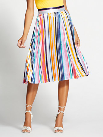 2c91c1eb74 multicolor-stripe-pleated-skirt---gabrielle-union-collection by