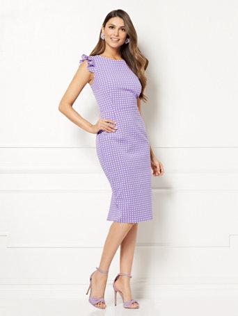 1795ae413e4 NY C  Nadine Sheath Dress - Eva Mendes Collection