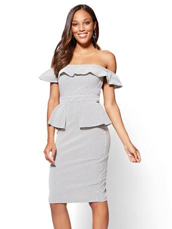 Peplum Sheath Dresses
