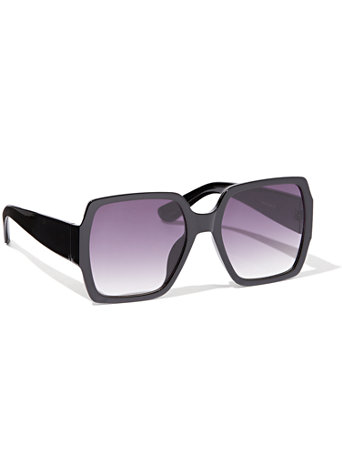 Oversized Square Sunglasses by New York & Company