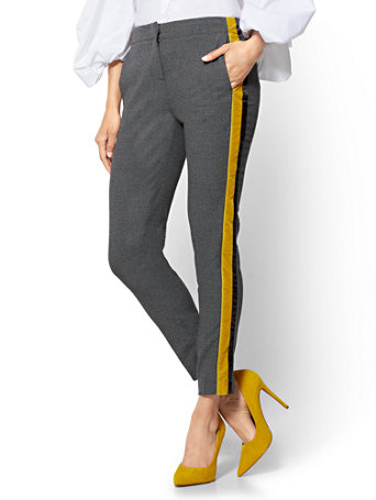Ny C Side Stripe Ankle Pant