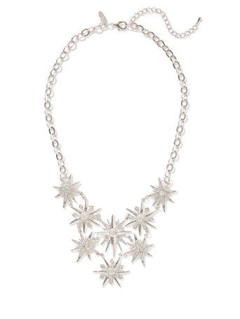 Starburst Bib Necklace