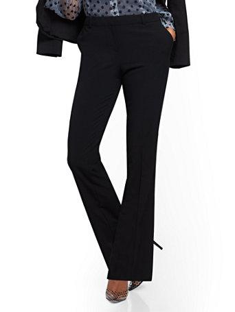 NY&Co Women's Straight-Leg Pants - Double Stretch