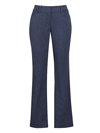NY&Co Women's Straight-Leg Pants - Signature Fit - 7th Avenue Blue