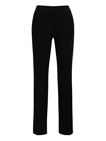 NY&Co Women's Straight-Leg Pants - Signature Fit - 7th Avenue Black