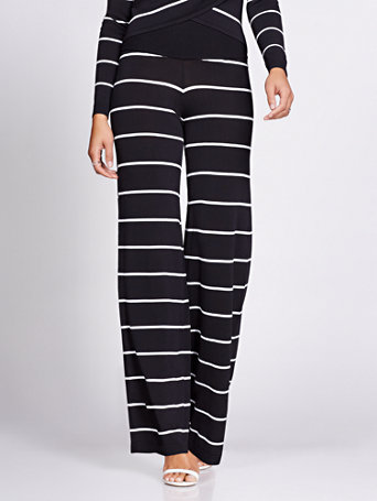 Stripe Sweater Pant   Gabrielle Union Collection by New York & Company