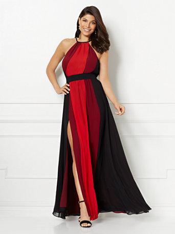 b01d73076c5 NY C  Tall Antonia Colorblock Maxi Dress - Eva Mendes Collection