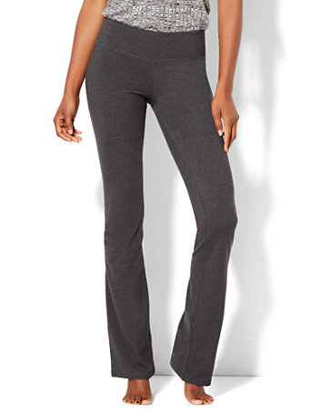 NY&Co Women's Tall Grey Bootcut Yoga Pants