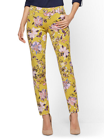 The Audrey Ankle Pant   Floral by New York & Company