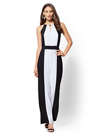two-tone-halter-jumpsuit by new-york-&-company