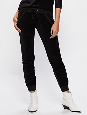 Velour Jogger Pant by New York & Company