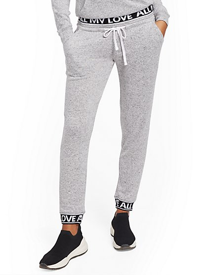 """All My Love"" Super-Soft Knit Jogger Pant - Soho street - New York & Company"