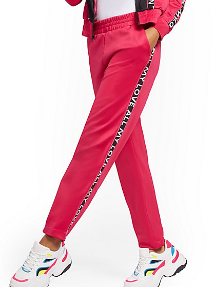 """All My Love"" Track Pant - Soho Street - New York & Company"