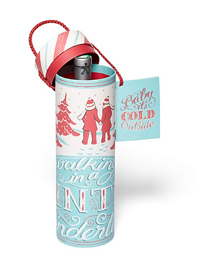 """Baby It's Cold Outside"" Wine Gift Box - New York & Company"