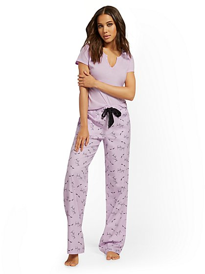 """Beauty Sleep"" Pajama Set - New York & Company"