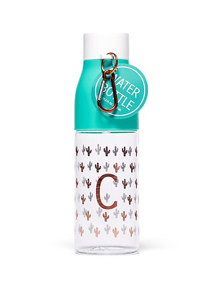 """C"" Monogram Water Bottle - New York & Company"