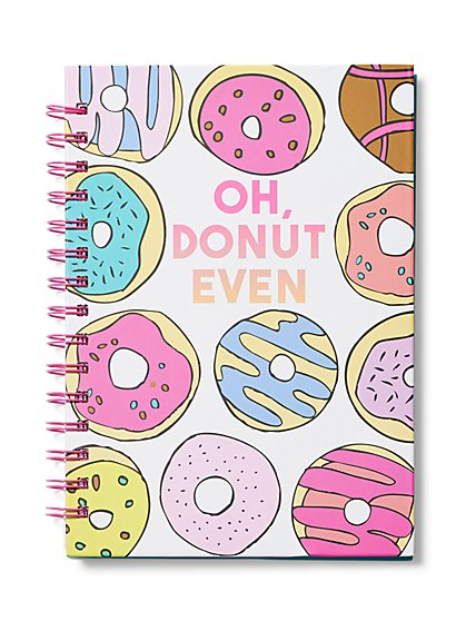 """Donut Even"" Notebook - New York & Company"