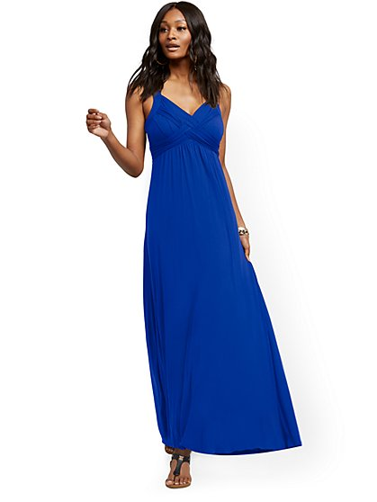 """Goddess"" Maxi Dress - New York & Company"