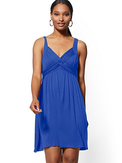 """Goddess"" Midi Dress - New York & Company"