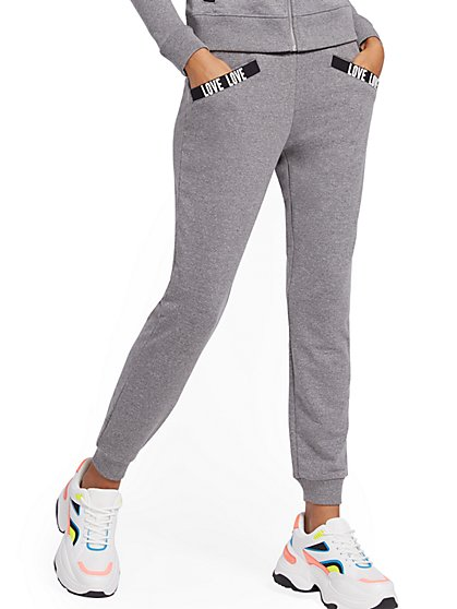 """Love"" Jogger Pant - Soho Street - New York & Company"