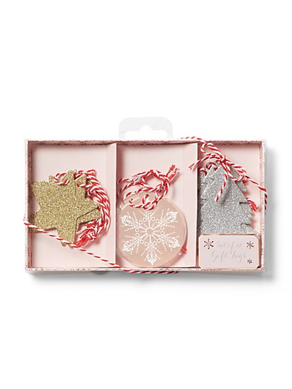 12-Piece Glam Gift Tags - New York & Company