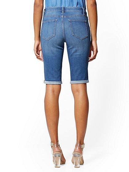 a3c645b846 ... 13 Inch Short - Blue Society - Soho Jeans - New York & Company