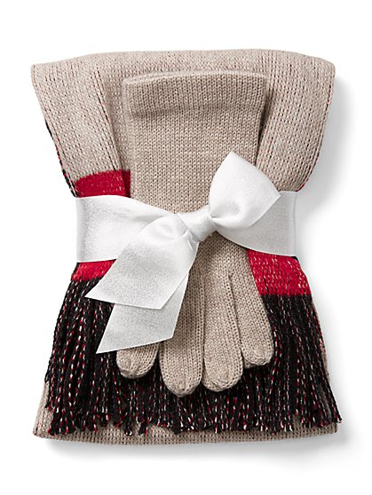 2-Piece Women's Scarf & Glove Sets (Various)