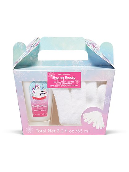 2-Piece Hand Cream & Stretch Gloves Set - New York & Company