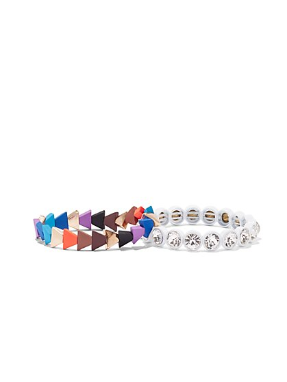2-Piece Stretch Bracelet Set - New York & Company