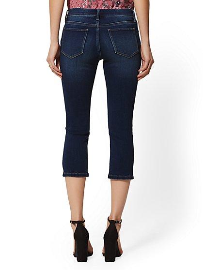 89e45d258015e ... 21 1/2 Inch Crop Legging - Blue Honey - Super Stretch - NY&C Runway