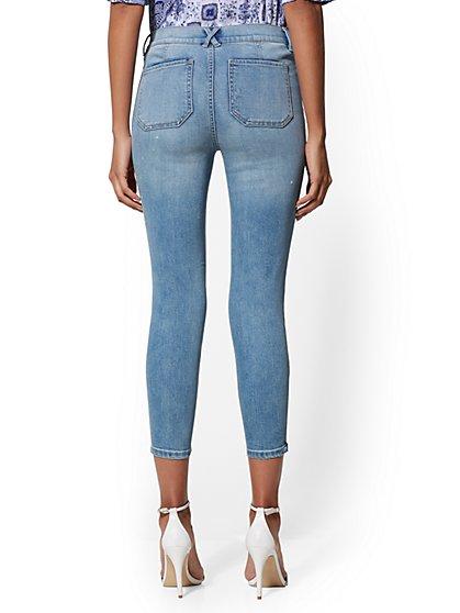 6e4e5a4244d55 ... 25 Inch Crop Legging - Indigo - NY&C Runway - Soho Jeans - New York &