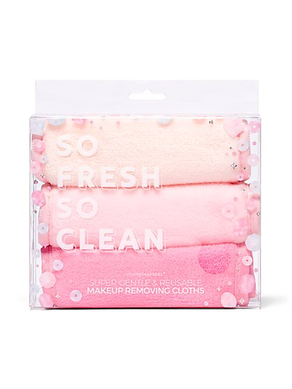 3-Piece Makeup-Removing Cloths Set - New York & Company