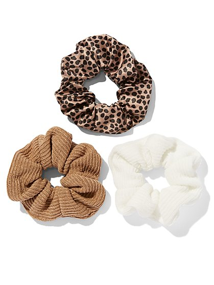 3-Piece Scrunchie Set - New York & Company