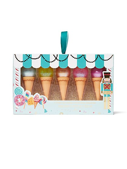 5-Piece Ice Cream Cone Nail Polish Set - New York & Company