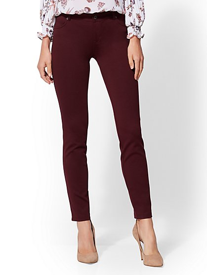 5-Pocket Legging - Ponte - New York & Company