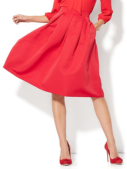 59.95 - SOLID PLEAT SKIRT - New York & Company